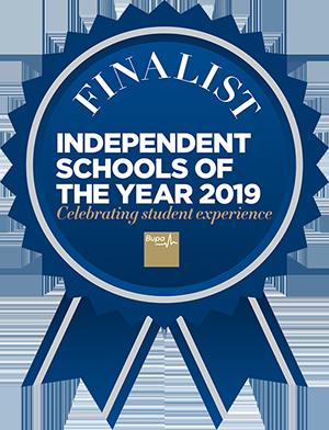Indepedent schools of the year 2019 Finalist